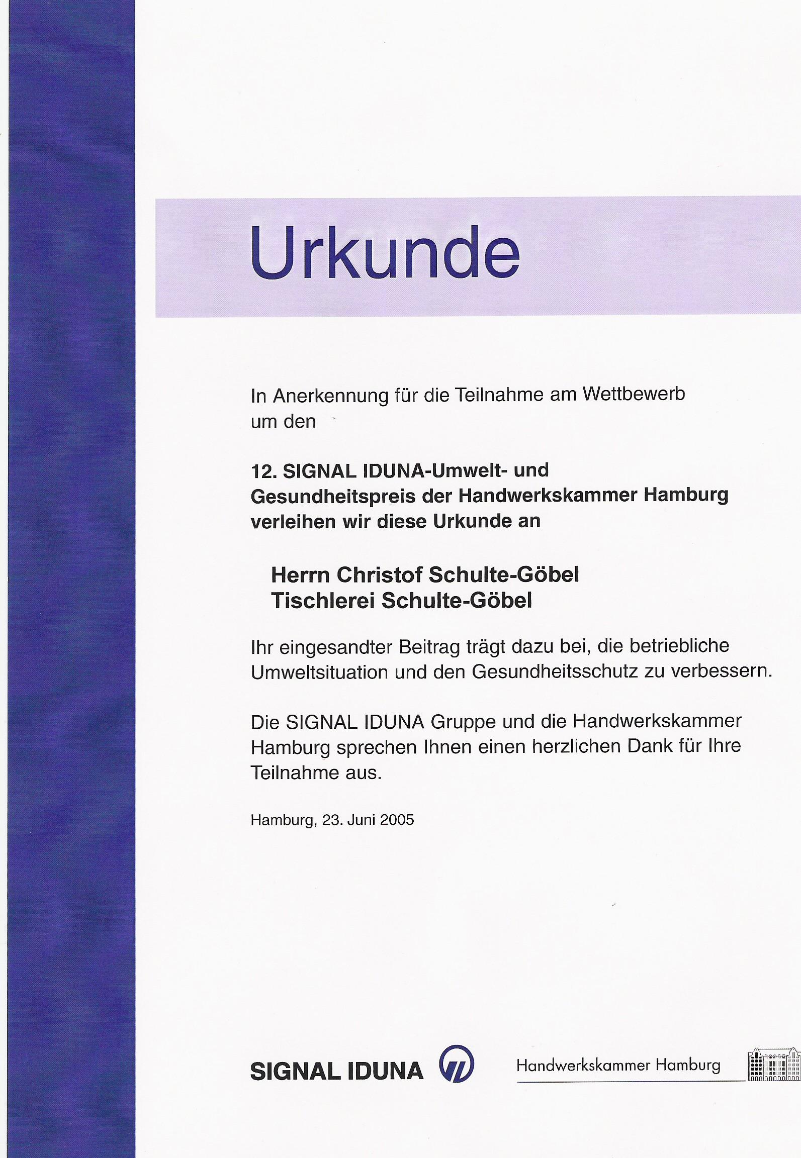 20050623_Signal_Iduna_Umwelt_und_Gesundheitspreis_2005